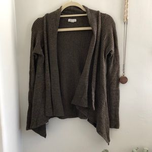 Sweaters - Comfy Waffle Wrap Cardigan